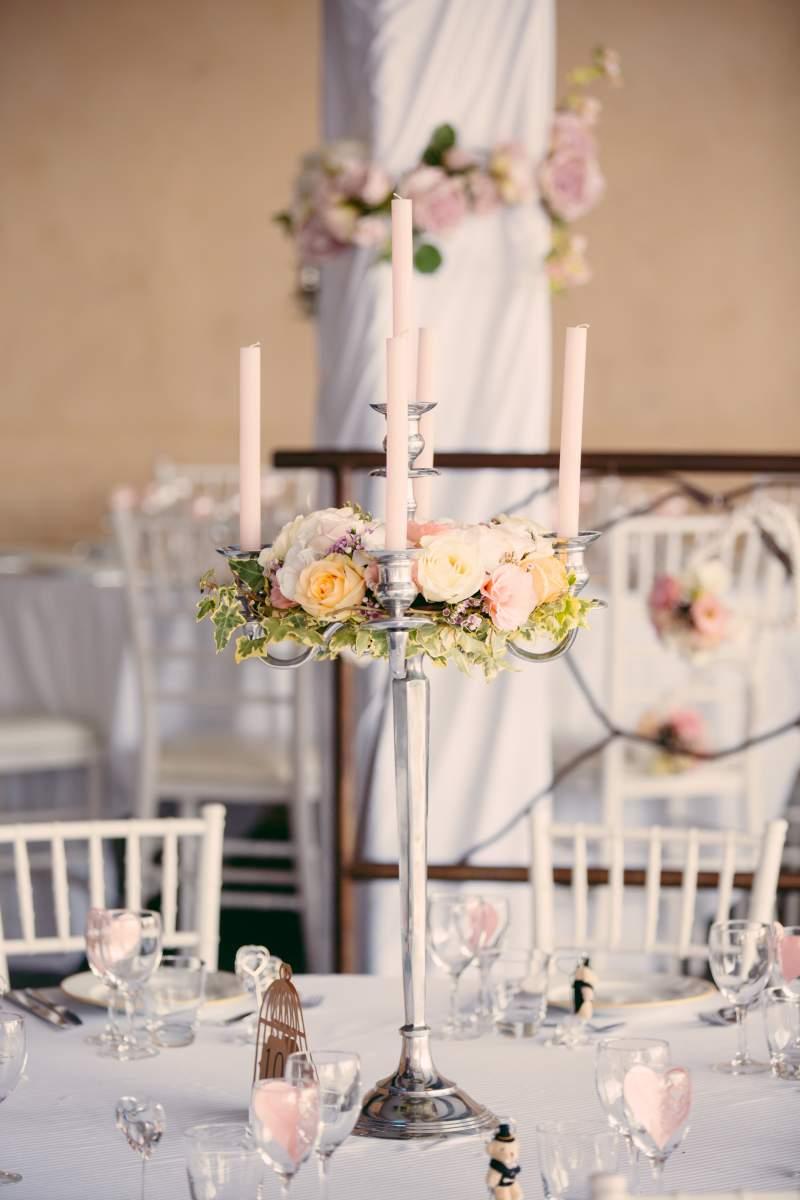 Deco De Table Bougie décoration bohème chic chandelier lyon et beaujolais - vente